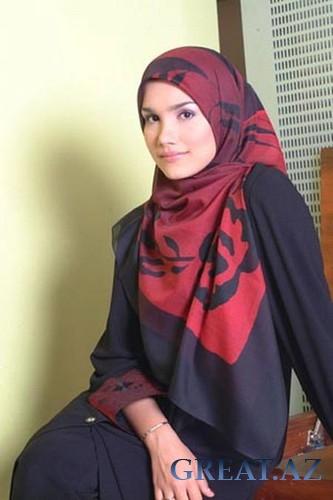 фото красивых девушек мусульманок в платке