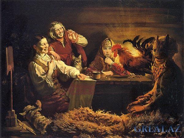 Праздничные гадания - успокой своё любопытство (4 фото)