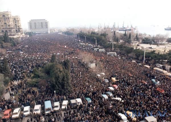 Кровавый январь 1990 года/Азербайджан