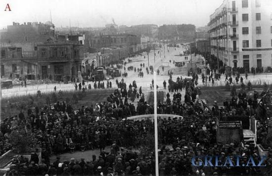 Старые фотографии Баку