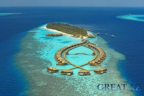 Сказочный отель на Мальдивах