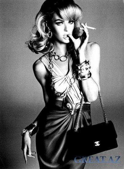 Кэндис Свейнпол в рекламе Victoria
