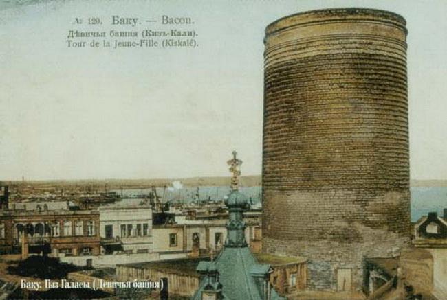 Девичья башня в Баку