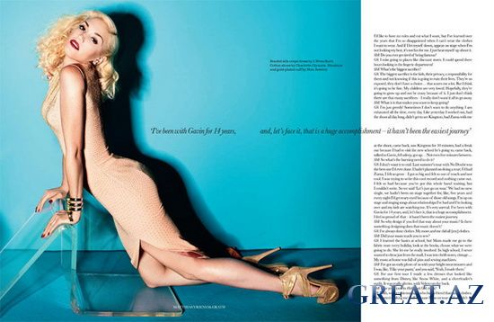 Gwen Stefani в Elle UK April 2011