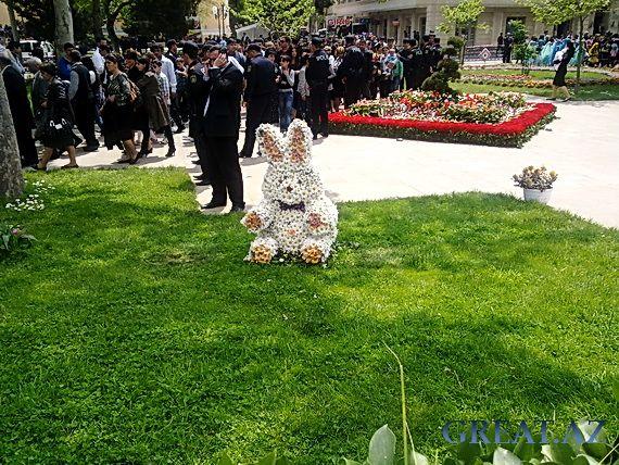 Праздник Цветов в Баку 2011 ФОТО