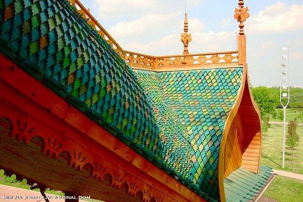 Коломенский дворец – восьмое чудо света