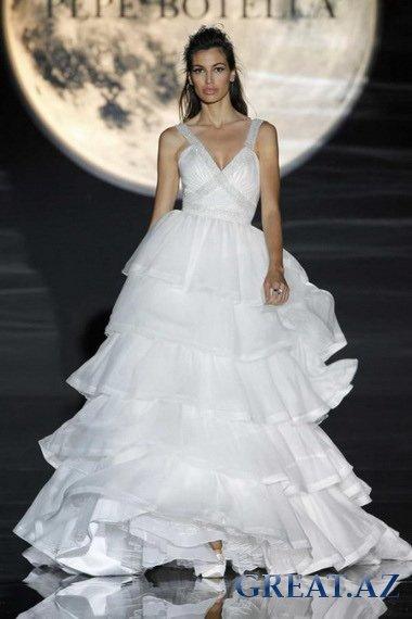 Красивые свадебные платья 58 фото