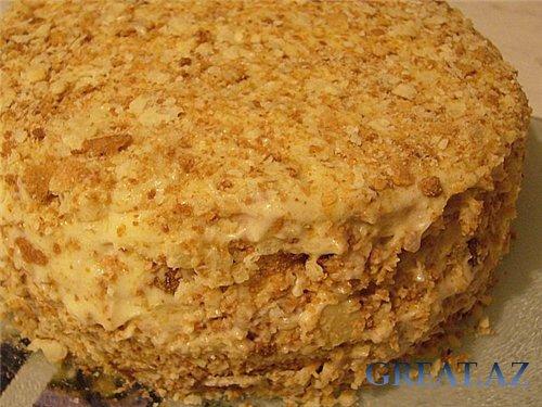 Для приготовления торта наполеон