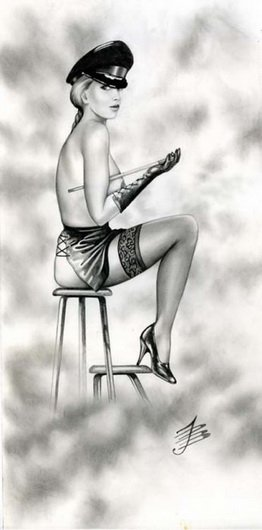 История Pin-Up. Paul John Ballard