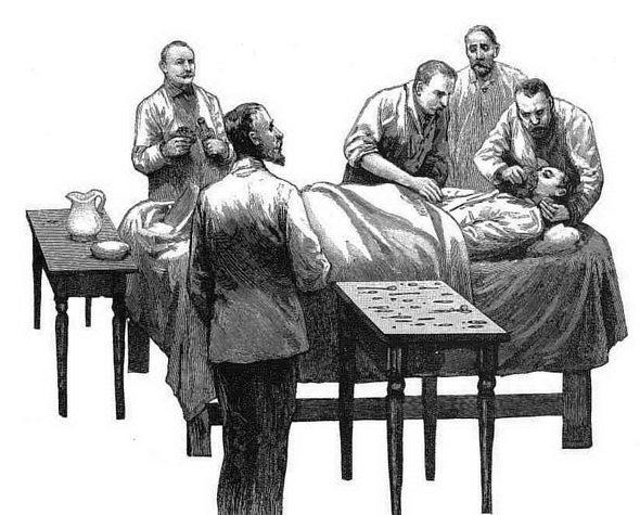 История изобретения наркоза
