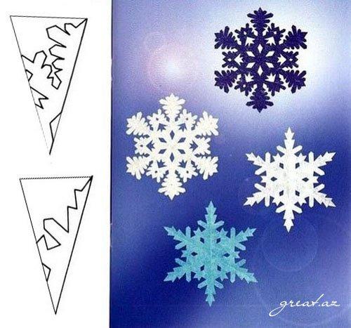 Как сделать снежинки на новый год своими
