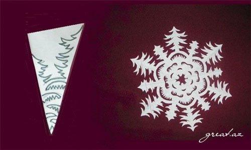 Как сделать снежинку из бумаги? Схемы, узоры