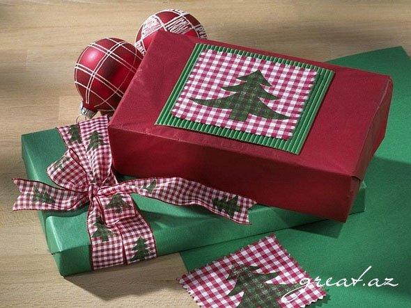 Фото оформление подарков на новый год