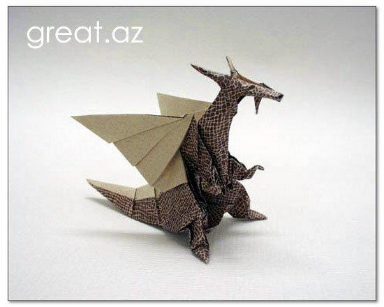 дракона из бумаги?