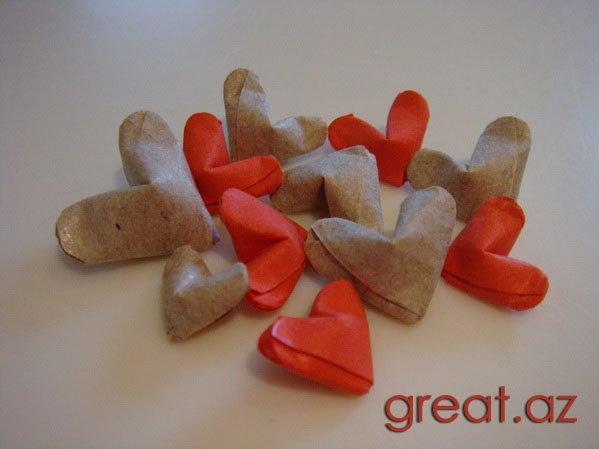 оригами для влюбленныхРецепты с фото