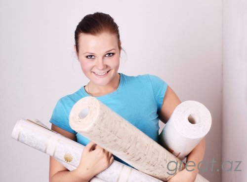 Necə divara oboylar yapışdırılır?