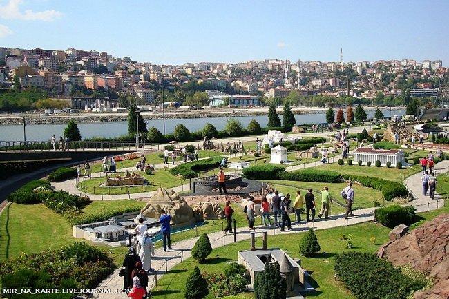 Турция в миниатюре/ Парк Miniaturk в Стамбуле
