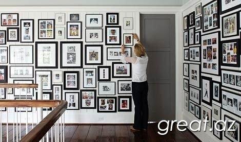 Идеи оформления дома фотографиями
