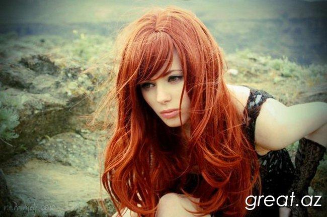 Красивые Картинки Девушек с рыжими волосами (60 Фото)