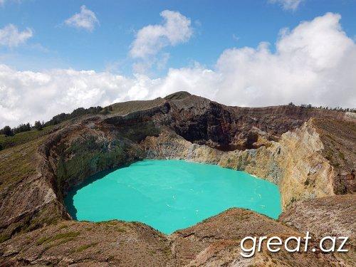 Ən təəccüblü krater gölləri