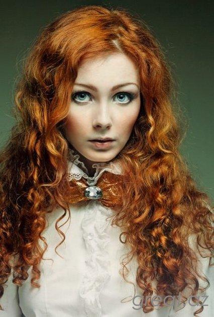 Девушки с рыжими волосами 33 фото