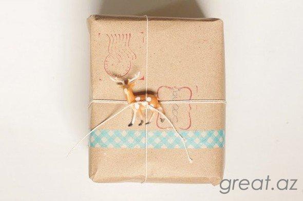 Как можно упаковать подарок на новый год