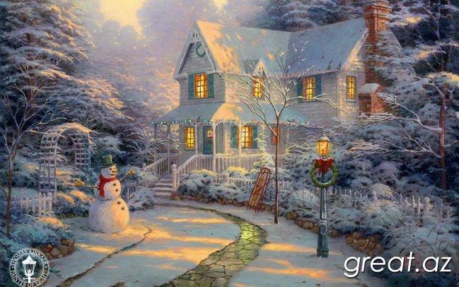 Красивые новогодние картинки