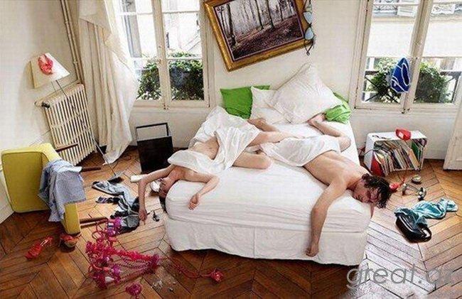 Незнакомый секс в квартире откровенно
