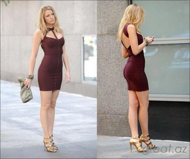 Красивые и сексуальные девушки в обтягивающих платьях (50 Фото)