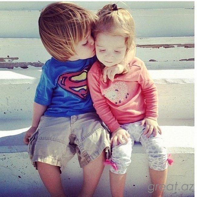 Мальчик с девочкой на аву