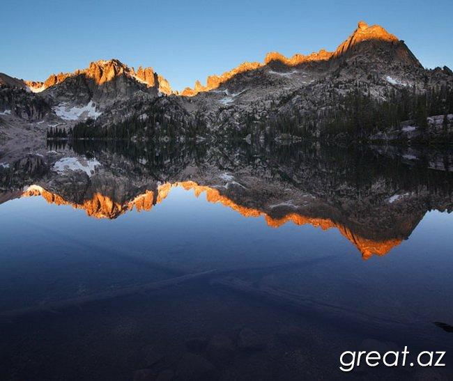 Самые красивые зеркальные пейзажи со