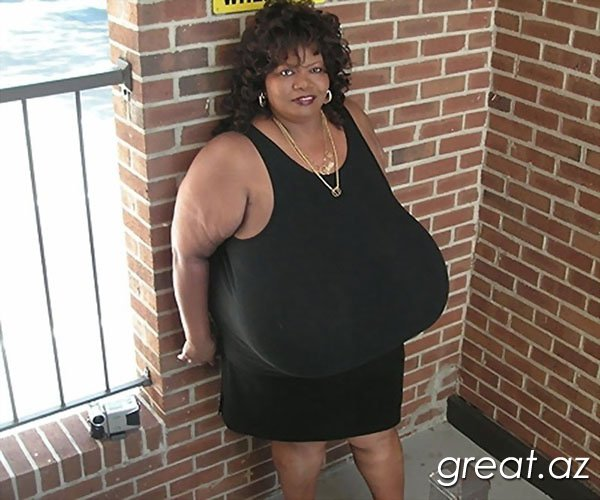 Женщины с самой большой грудью в мире