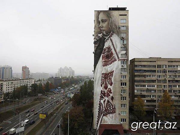 Невероятный киевский стрит-арт