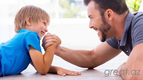 Oğulun tərbiyəsi vaxtı atanın rolu