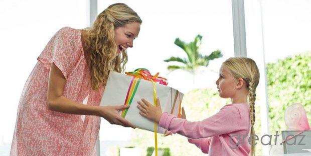 Какой может быть подарок для мамы
