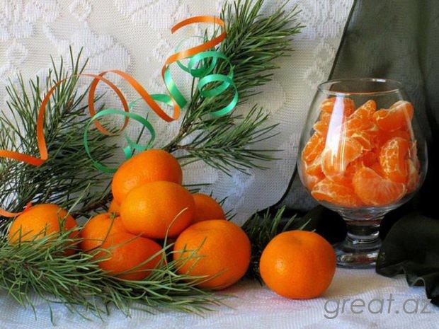 Necə ən şirin mandarinlər seçmək lazımdır