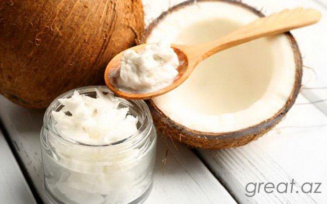 Bədən və üz üçün kokos yağı