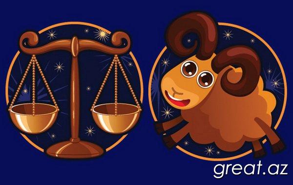Qadın-Qoç üçün uyğunluğ horoskopu