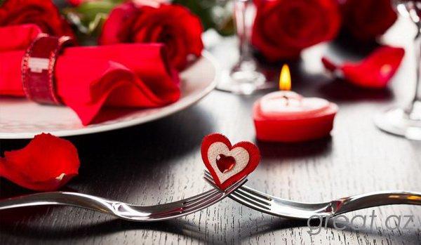 14 fevralda romantik axşamı necə keçirmək olar