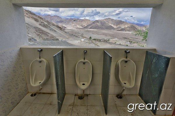 Dünyada ən mənzərəli tualetlər