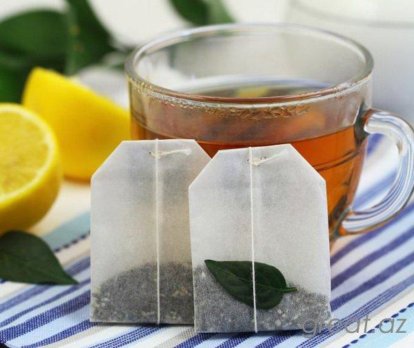 Paketlərdən çayı içmək zərərlidirmi?