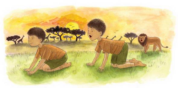 Uşaqlar üçün yoqanın 12 pozası