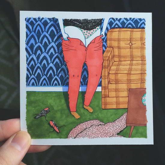 İnstaqramdan kənar qadınların adi həyatı (foto)