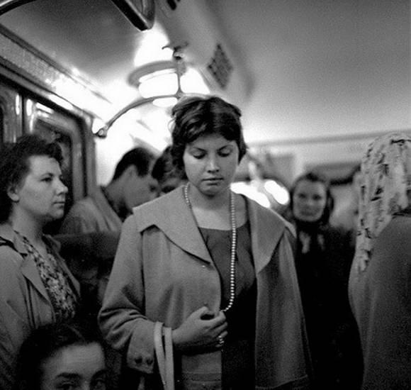 SSRİ-in gözəl qızları Foto