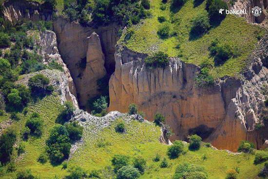 Quş uçuşunun hündürlüyündən Azərbaycan - FOTO