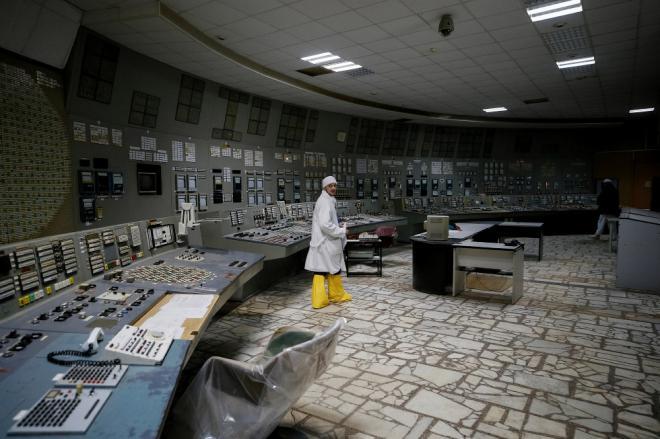 Чернобыльская АЭС спустя 32 года