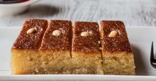 Рецепт пышного пирога-манника