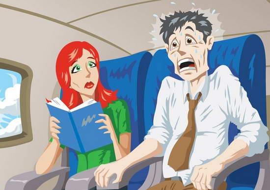 Боязнь летать. Как справиться с аэрофобией?